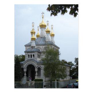 Russian Orthodox Church of Geneva Postcard