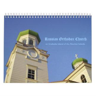 Russian Orthodox Church of Unalaska Calendar