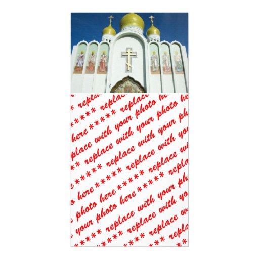 Russian Orthodox Church Photo Card