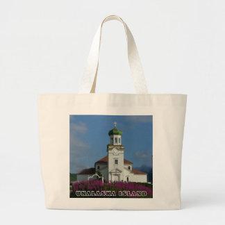 Russian Orthodox Church~ Unalaska, AK Canvas Bags