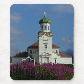 Russian Orthodox Church~ Unalaska, AK Mouse Pad