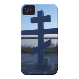 Russian Orthodox Cross iPhone 4 Case-Mate Cases