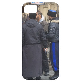 Russian Orthodox Priest outside Paris Notre Dame iPhone SE/5/5s Case