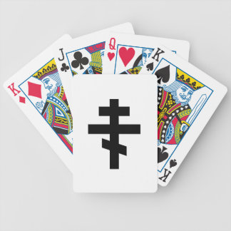 Russian Orthodox Symbol Bicycle Playing Cards