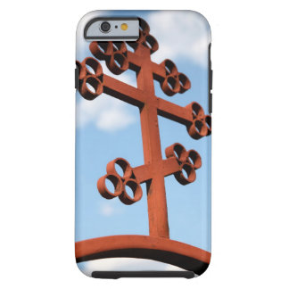Russian Orthodoxy cross against sky Tough iPhone 6 Case