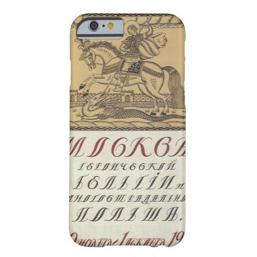 Russian_poster_WWI_020_Propaganda Poster Barely There iPhone 6 Case
