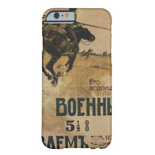 Russian_poster_WWI_059_Propaganda Poster Barely There iPhone 6 Case