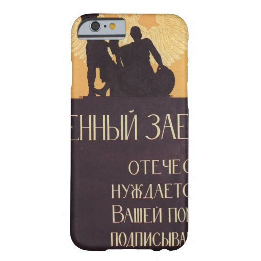 Russian_poster_WWI_Propaganda Poster Barely There iPhone 6 Case