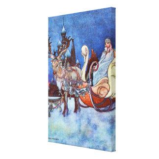 Russian Princess Charles Robinson Illustration Canvas Print