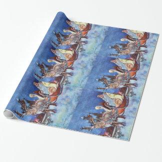 Russian Princess Charles Robinson Illustration Wrapping Paper
