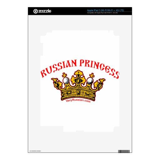 Russian Princess iPad 3 Decals