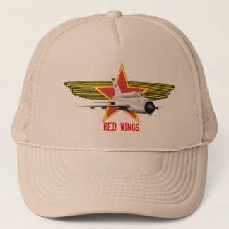 Russian Red Wings Mig 21 Hat