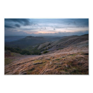 Russian Ridge at Sunset Photo Print