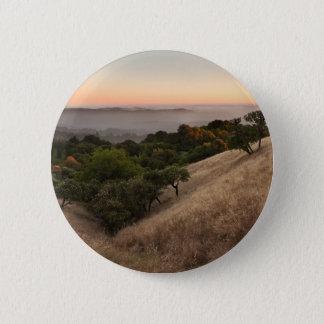 Russian Ridge in Summer Pinback Button