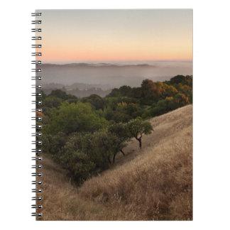 Russian Ridge in Summer Spiral Notebook