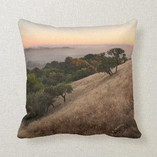 Russian Ridge in Summer Throw Pillow