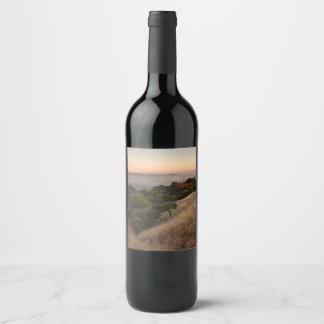 Russian Ridge in Summer Wine Label