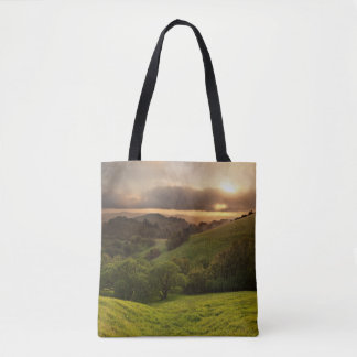 Russian Ridge on Easter Sunday Tote Bag
