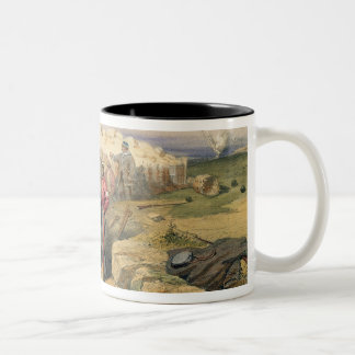 Russian Rifle Pit (now British), plate from 'The S Two-Tone Coffee Mug