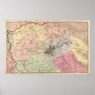 Russian River, Santa Rosa, Analy Townships Poster
