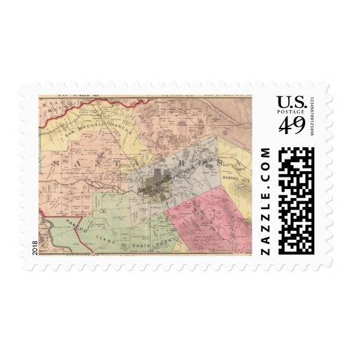 Russian River, Santa Rosa, Analy Townships Stamp