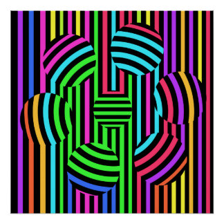 Russian Roulette Psychedelic Casino Art Print