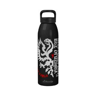 Russian Sambo CoA (White/Red) Reusable Water Bottles