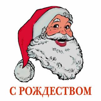Russian Santa Cutout