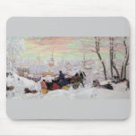 Russian Sleigh Ride Mouse Pad