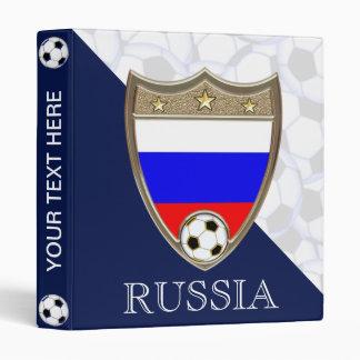 "Russian Soccer 1"" 3 Ring Binders"