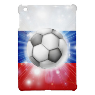 Russian soccer flag iPad mini cases