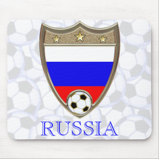 Russian Soccer Mouse Pad