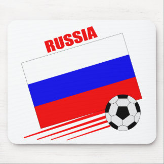 Russian Soccer Team Mouse Pads