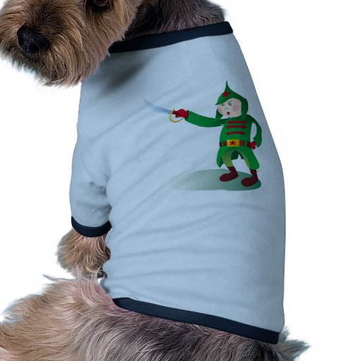 Russian soldier dog tee