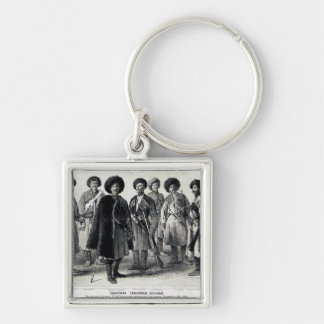 Russian Soldiers Keychain