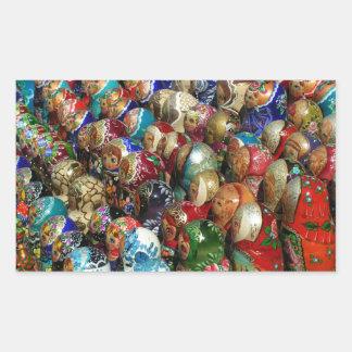 Russian souvenirs Rectangle Sticker