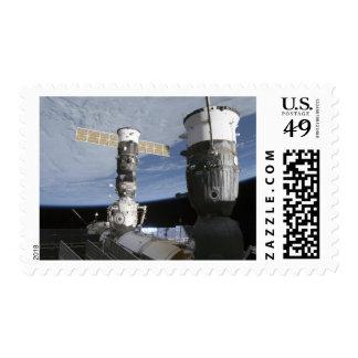 Russian Soyuz and Progress spacecrafts Postage