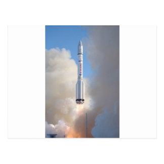 Russian Space Program Proton launch THOR 5 Postcard