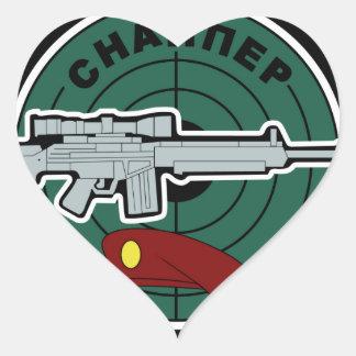 Russian Special Forces Spetsnaz SVD Sniper Heart Sticker