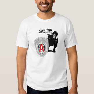 Russian Speznas ALFA Antiterror Group T Shirt
