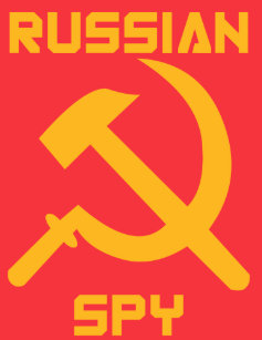 Image result for russian spy rubber stamp