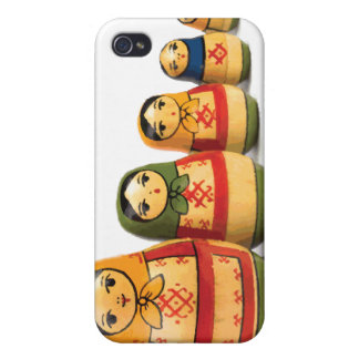 Russian Stack Dolls iPhone 4/4S Case