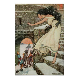 Russian Storybook Princess Frank Pape Art Poster