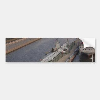 Russian Submarine C189 Bumper Stickers