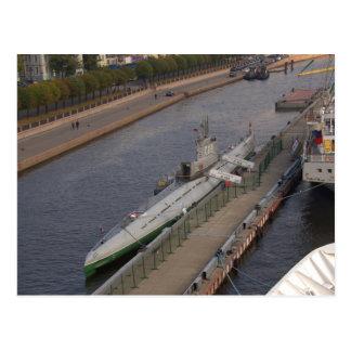 Russian Submarine C189 Postcard