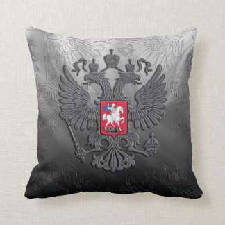Russian symbol flag throw pillow