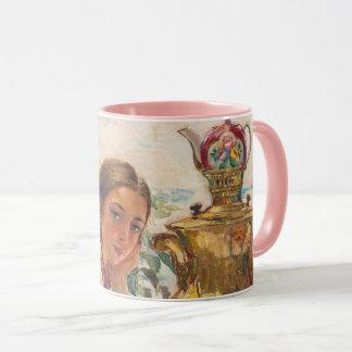 Russian Tea Party Combo Mug