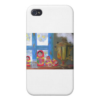 russian tea time iPhone 4/4S covers