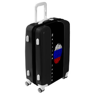 Russian touch fingerprint flag luggage
