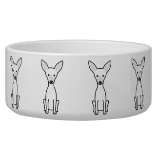 Russian Toy Dog Water Bowls